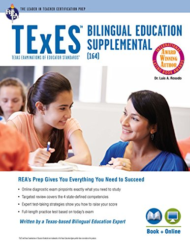 TExES Bilingual Education Supplemental (164) Book + Online...