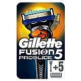 Gillette Fusion5 ProGlide Maquinilla de Afeitar + 6 Cuchillas de Recambio