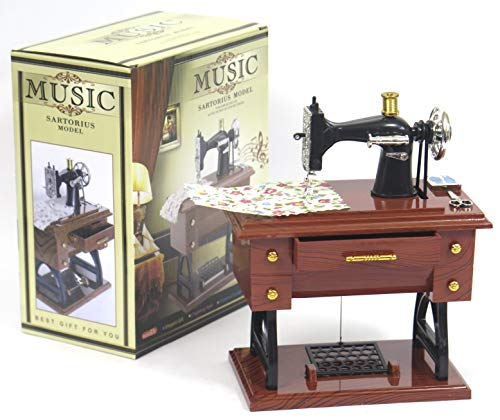 Sewing Machine Music Box, Great for mom's