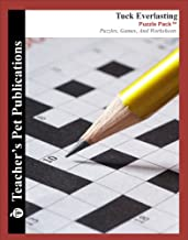 Tuck Everlasting Puzzle Pack - Teacher Lesson Plans, Activities, Crossword Puzzles, Word Searches, Games, and Worksheets (...