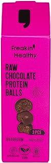 Freakin Healthy Raw Chocolate Protein Balls 60g, Gluten Free, Vegan and Healthy Raw Chocolate Snacks