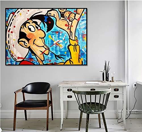 Puzzle 1000 Piezas Pintura de Arte de Dibujos Animados Puzzle 1000 Piezas educa Juegos Familiares para Adultos Divertidos para niños50x75cm(20x30inch)