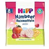 HiPP Himbeer Reiswaffeln, 7er Pack (7 x 30 g) -
