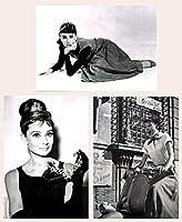 オードリー ヘプバーン (Audrey Hepburn) ポストカード 3枚セット