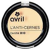 Avril L'anti-cerne Certifié Bio - Corrector de ojeras orgánico, marfil, 2,5g