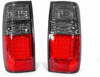 DEPO Red/Smoke LED Tail Light Set FIT FOR 1991-1997 Toyota Land Cruiser FJ80 / 1995-1997 Lexus LX450