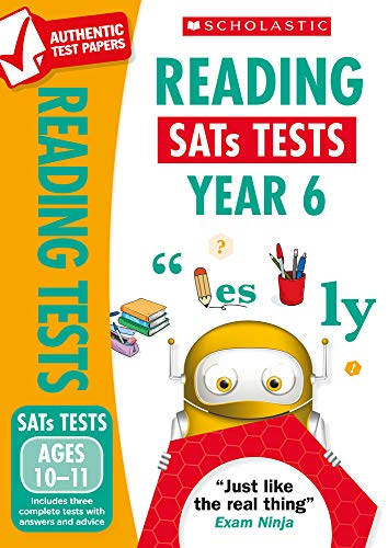 KS2 Reading SATs Practice Papers for the 2021 test: Year 6 (National Curriculum SATs Tests)