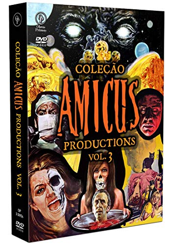Coleção Amicus Productions Vol.3 [Digistak com 3 DVD's]