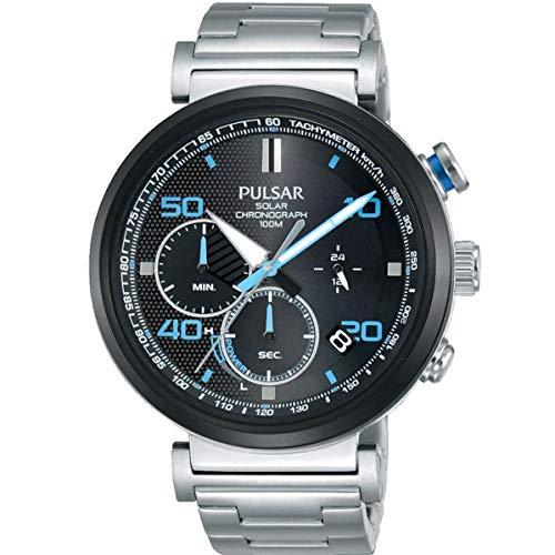Pulsar Reloj Analógico para Hombre de Cuarzo con Correa en Acero Inoxidable PZ5065X1
