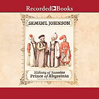 The History of Rasselas, Prince of Abissinia audiobook cover art