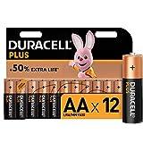 <span class='highlight'><span class='highlight'>Duracell</span></span> Plus AA Alkaline Batteries [Pack of 12], 1,5 Volts LR06 MN1500