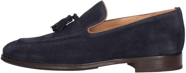 FRAU 36C3 blueE men's loafers shoes