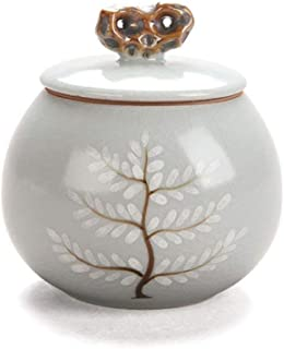 RMXMY Burial Urn at Home Office of Life Cremation urn Memorials urns Container Jar Pot   Brass Urns   Metal Urn   Burial Urn   Memorial Urn (Small Size)