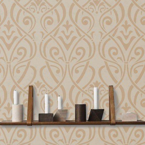 TODO STENCIL Home Decor Estampado 003 Roma, Medidas: Stencil 50 x 70 cm - Diseño 48 x 68 cm
