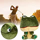 Forma de rana de Golf Club Sombrero Material Felpa Golf Driver Sombrero Regalo para la Familia
