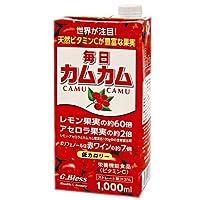 ジーブレス 毎日カムカム 1000ml紙パック×6本入×(2ケース)