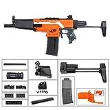 WORKER F10555 MP5-A Light Style (Orange Adaptor) for Nerf N-Strike Stryfe Blaster