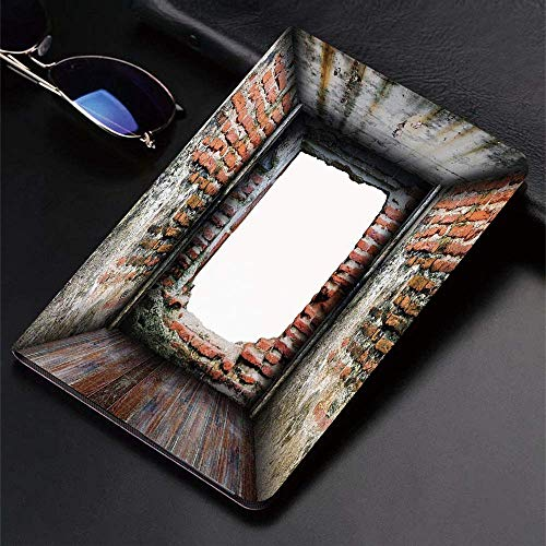Case for iPad (9.7-Inch, 2018/2017 Model, 6th/5th Generation)Ultra Slim Lightweight Smart Cover,Modern Decor,Abondoned Grunge Old Torn Interior Four Side Brick Walls Crack,Smart Covers Auto Wake/Sleep