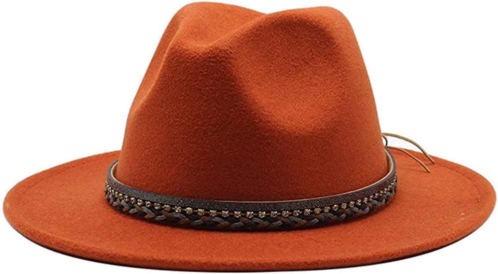 Women's and Spring new work one after another Men's Fedora Hat Classic Brim Virginia Beach Mall Elegant Wide Wo Panama