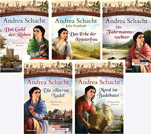 Andrea Schacht Myntha die Fährmannstochter Serie