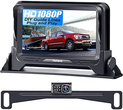 Backup Camera for Car HD 1080P with Monitor Kit...