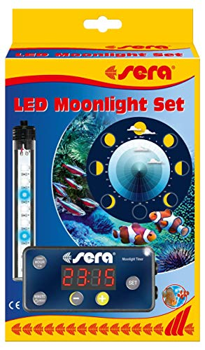 Sera 44498 Moonlight - Juego de luces led para la luna y la iluminación para...