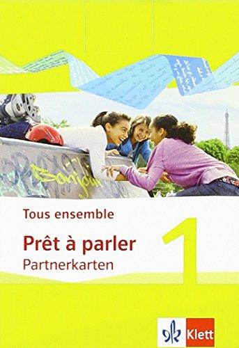 Tous ensemble 1: Prêt à parler, Partnerkarten 1. Lernjahr (Tous ensemble. Ausgabe ab 2013)