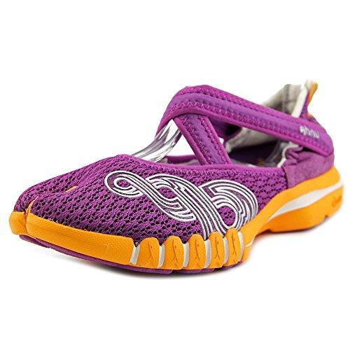 Ahnu Womens Yoga Split Running, Cross Training Shoes Purple 7.5 Medium (B,M)
