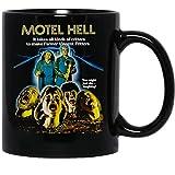 N/ Motel Hell Horror Movie 1980s vintageFunny Coffee Mug for Women and Men Tea Cups (15 Oz)
