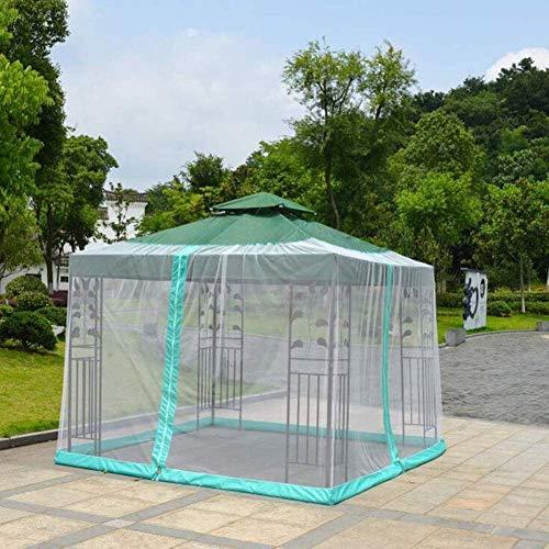 Sombrilla de Estilo Redes de Mosquitos Patio al Aire Libre Mosquiteros Sombrilla Net Cover Sombrilla de Mesa Cubierta Anti Mosquitero