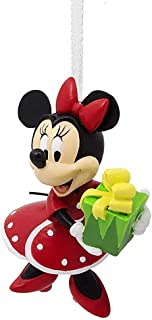 Disney Minnie Mouse Gift Exchange Christmas Tree Ornament Mfg by Hallmark