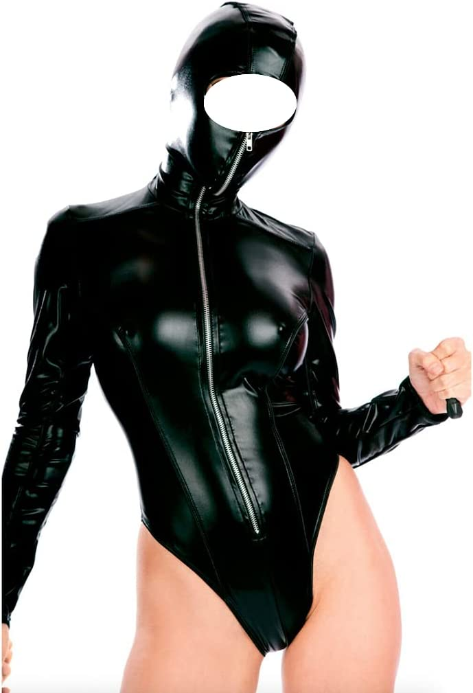 GSV Store Hooded Mask Max NEW before selling 50% OFF Teddy Zipper Incredible Costume E Bodysuit