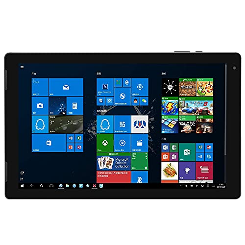 Topuality EZpad 7 Tableta portátil de Metal de 10,1 Pulgadas con procesador Intel Atom X5 Z8350 4GB + 128GB Memoria 1920 * 1200 Pantalla IPS Enchufe de la UE