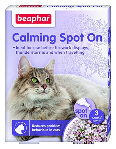 Beaphar Pipetas Calming Spot On para Gatos, 3 Unidades ✅