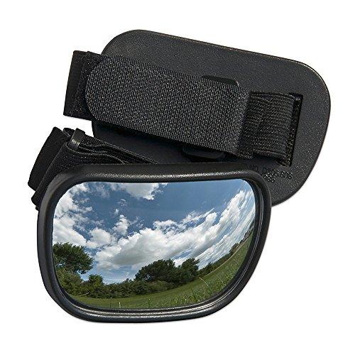 Raider Powersports Velcro Hand Mirror for Motorcycle/Snowmobile/ATV/UTV/PWC (3.5' x 2.25')