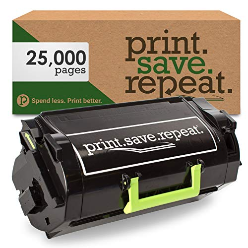 Print.Save.Repeat. Lexmark 521HE High Yield Remanufactured Toner Cartridge for MS710, MS711, MS810, MS811, MS812 [25,000 Pages]