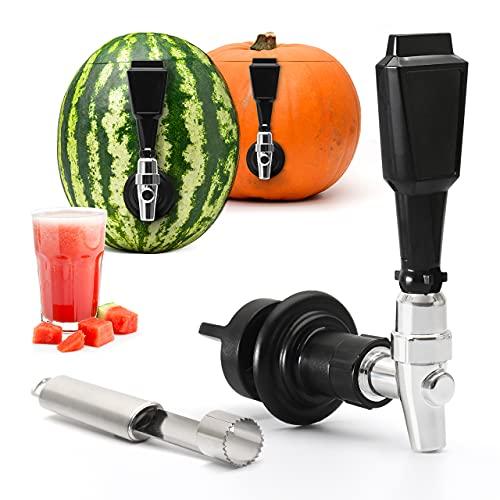 Bar Amigos Fruit Keg Tap Dispenser Kit – Ideaal voor Watermeloen Pompoen Party Drank Ananas Iced Tea Alcohol Drink…