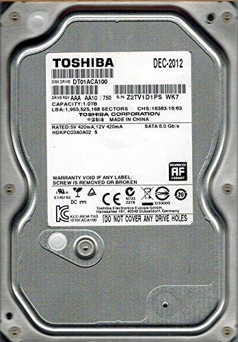 Toshiba DT01ACA100 HDKPC03A0A02 1TB [並行輸入品]