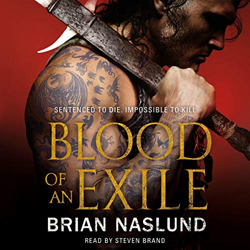 Blood of an Exile audiobook cover art