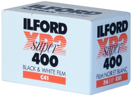 Ilford XP-2 Super, película de 35mm, rollo de 36 exposiciones