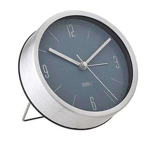 Bloomingville Horloge de table, Argenté, Aluminium