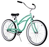 Firmstrong Urban Lady Single Speed Beach Cruiser Bicycle, 24-Inch, Mint Green
