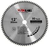 TCT30580T Saxton TCT Circular <span class='highlight'>Wood</span> Saw Blade 305mm x 30mm x bore x 80T for Bosch Makita <span class='highlight'>Dewalt</span>