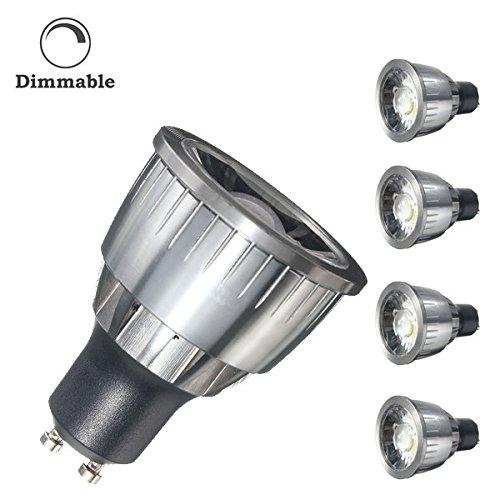 Bazaar Dimbare GU10 5W 550Lm LED Pure White Warm Wit Plastic & aluninum punt verlichting lamp AC110V AC220V