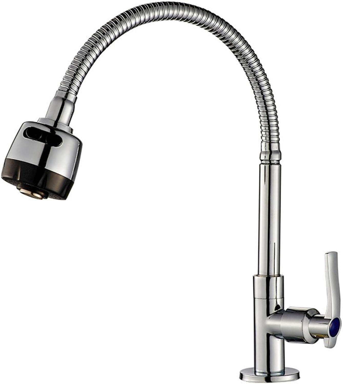 ETERNAL QUALITY Bad Waschbecken Wasserhahn Edelstahlspüle Spüle Universal Messing Single Cold Single Hole Küche