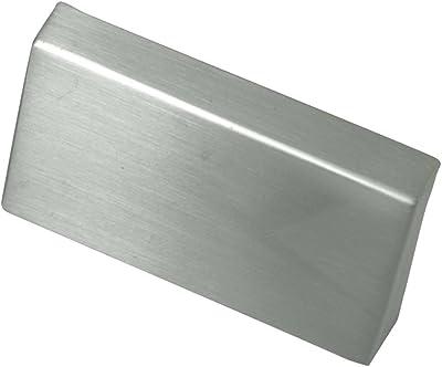 Laurey 74928 Edge Pull 16mm c/c Contempo, Satin Nickel