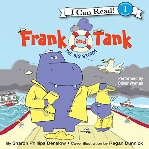 Frank and Tank: The Big Storm audiobook cover art