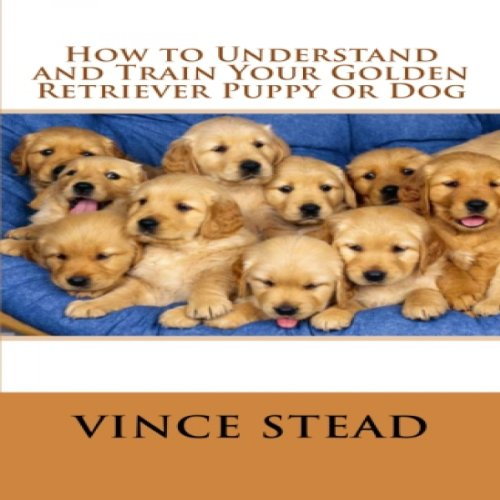 How to Understand and Train Your Golden Retriever Puppy or Dog audiobook cover art
