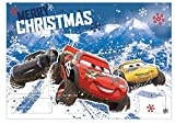 Undercover Advent Calendar for Children with 24 Stationery Surprises, Cool Disney Pixar Cars Motif, Approx. 45 x 32 x 3 cm
