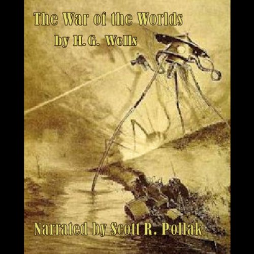 The War of the Worlds audiobook cover art